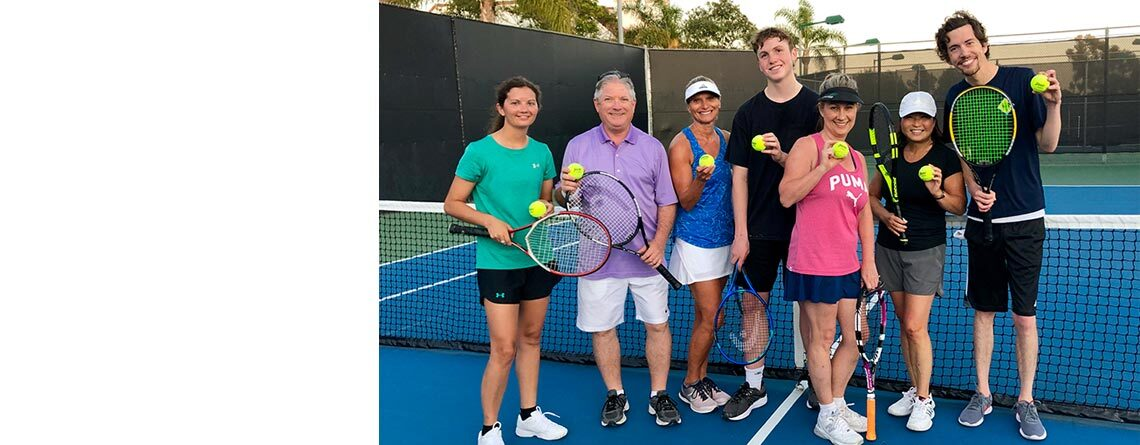 Group Tennis Clinics with Coach Mike Story
